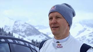 "Audi e-tron quattro SUV climbs ""Mausefalle"""