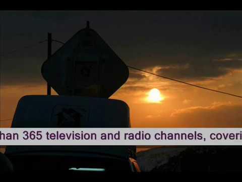 RRSat global distribution network for TV channels.