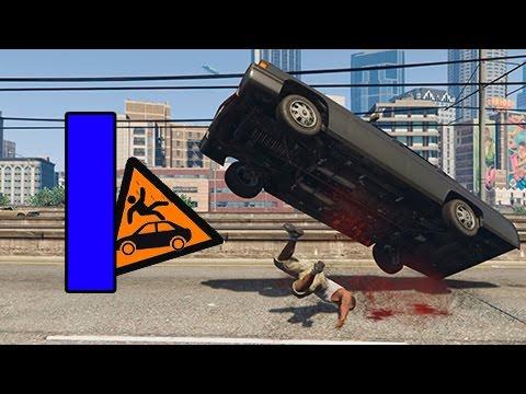 GTA SUPER Epic Fails 3 | CAIDAS CONTRA VEHICULOS | Capitulo 1