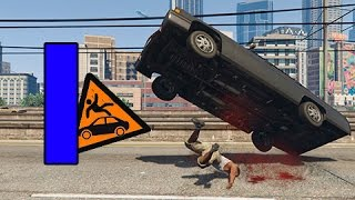 GTA SUPER Epic Fails 3 | CAIDAS CONTRA VEHICULOS | Capitulo 1