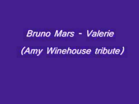 Bruno Mars-Valerie (Amy Winehouse tribute)