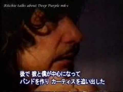 Ritchie Blackmore talks about his history #1