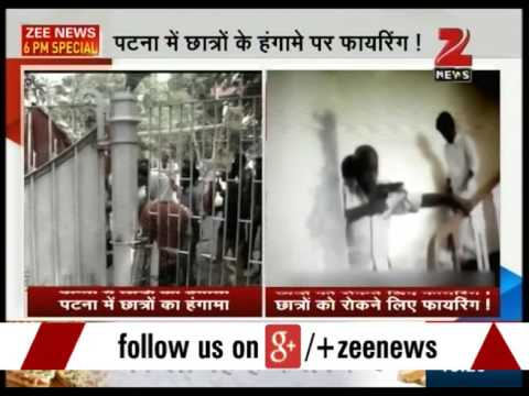 Patna : Ruckus in Vice Chancelor office of Patna university