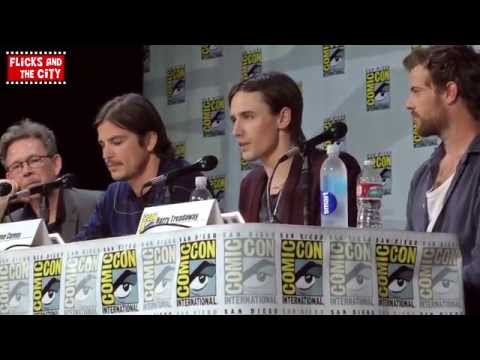 Penny Dreadful Season 2 Comic Con Panel - Josh Hartnett, Harry Treadaway, Reeve Carney
