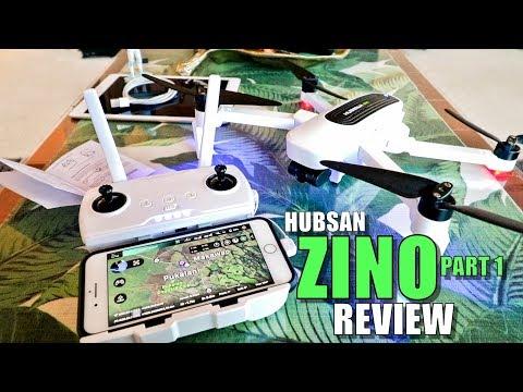 Hubsan ZINO Review - Part 1 - [Unboxing, Inspection, Setup, Pros & Cons]