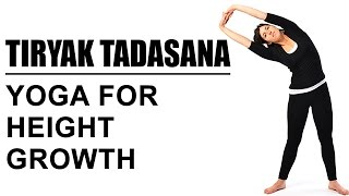 Tiryak Tadasana : Yoga For Height Growth