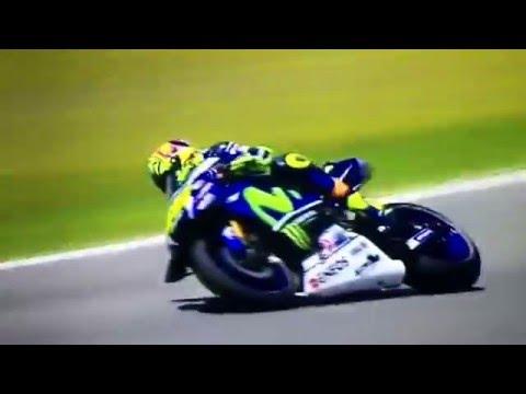 Valentino Rossi GP Spagna•24.04.2016•Guido Meda se la impenna così butto la patente