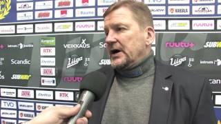 20.01.2017 Lukko vs. SaiPa: valmentajan analyysi