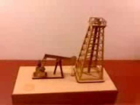 Jos Valdora - Torre petrolera portátil - Maqueta