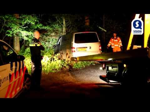 Inzittende vlucht na eenzijdig verkeersongeval in Son en Breugel