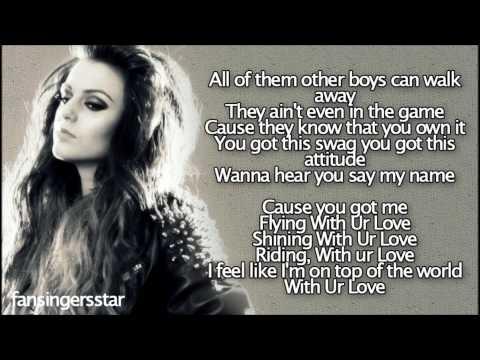 Cher Lloyd - With Your Love [lyrics] video