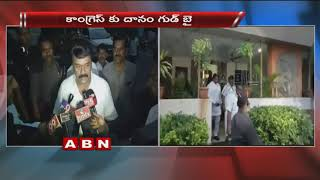 Danam Nagender Meet with TRS Ministers after quit from Congress