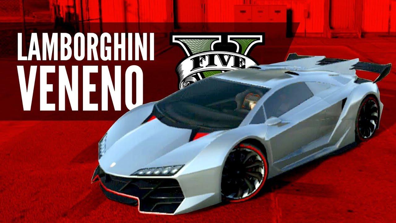Pegassi Zentorno Lamborghini Veneno Build Gtav Youtube