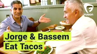 Jorge Ramos and Bassem Youssef Talk Trump Over Tacos