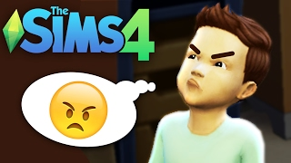 Baby Denis gets angry! - SIMS 4 BABIES