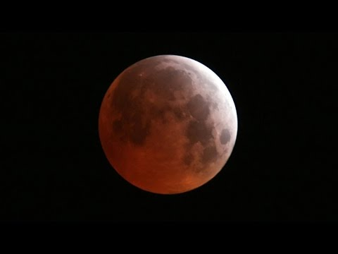 'Blood Moon': Total lunar eclipse over US (NASA STREAM)