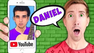 DANIEL'S OLD YouTube MUSIC CHANNEL! Spending 24 Hours Creating a DIY Rock Band to Distract Hackers
