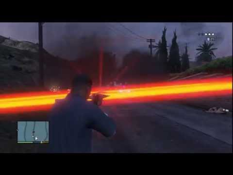 GTA 5: Laser Weapon Mods By Hax0r