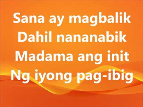 laging naroon ka lyrics - Jaya