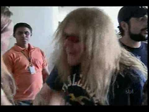 Iron Maiden - Janick Gers em Brasília - SBT