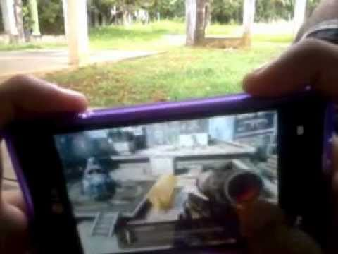 modern combat 3 gameplay LG optimus L5 games