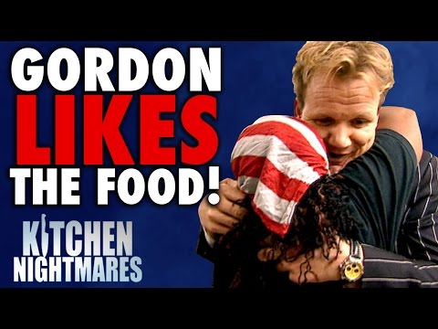 6 Times Gordon Ramsay Actually LIKED THE FOOD!   Kitchen Nightmares COMPILATION
