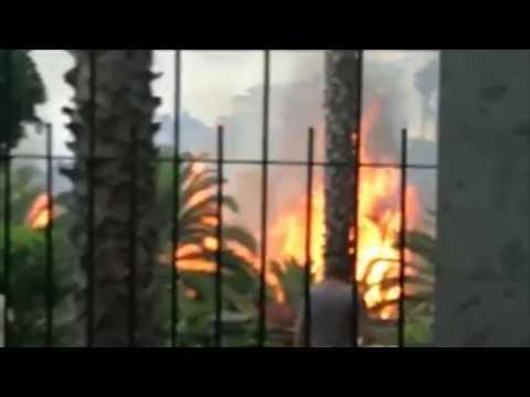 Controlado el incendio en Arucas