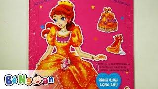 Công chúa lộng lẫy ~ Dán hình trang phục công chúa