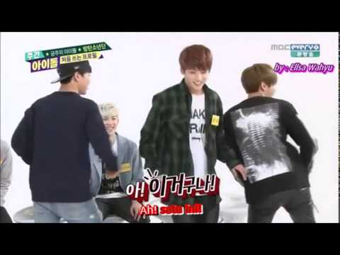 [indo Sub] 140430 Bts - Weekly Idol (girl Group Dance) video