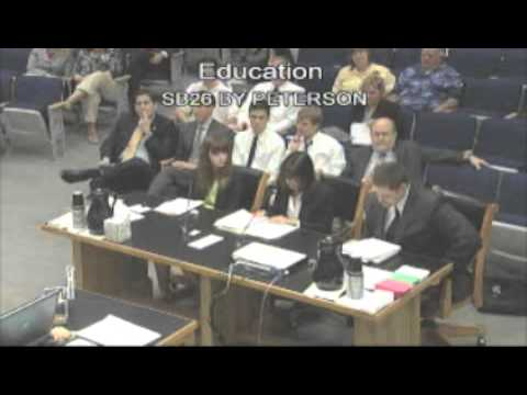 Intelligent Design Creationism Lobbyist testifies about Louisiana's Creationism Law