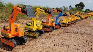 Cars Toys Playing for Kids | Construction Truck Excavator For Children | Vic Vic