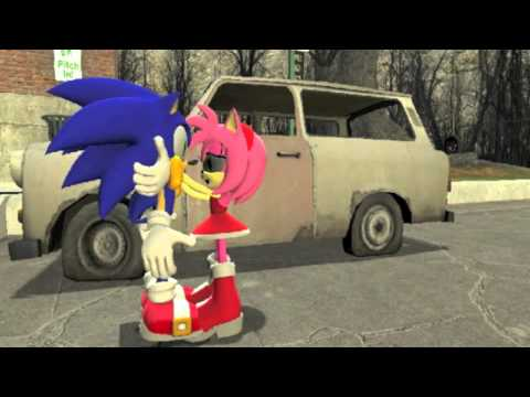 How Sonic Girls Kiss video