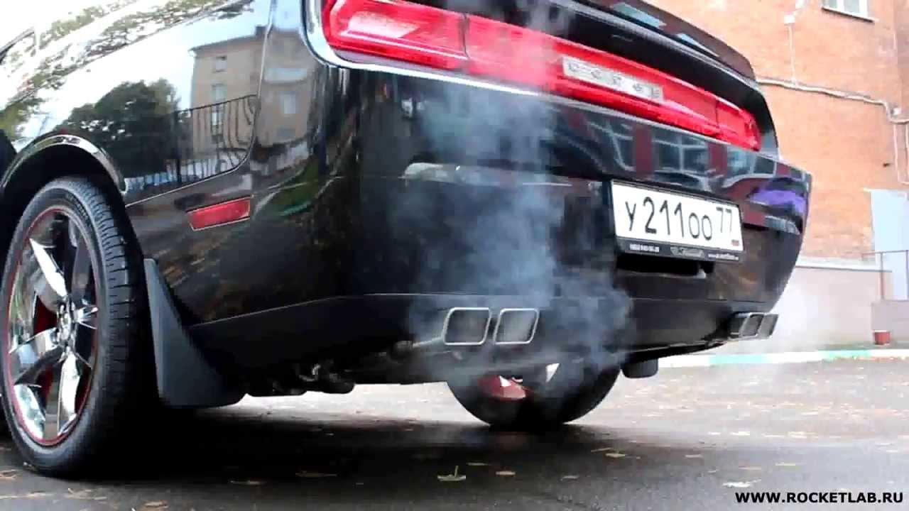 Fastest Car In The World 2015 >> Dodge Challenger R/T HEMI 5.7 Exhaust sound STOCK vs BORLA - YouTube