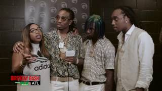 "Migos Compare Themselves To Kanye West & Discuss Recording ""Champions"""