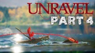 Unravel Gameplay Walkthrough Part 4 - MOUNTAIN TREK (Chapter 4) All Collectibles & Secrets