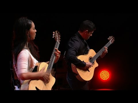 "Rodrigo y Gabriela perform ""The Soundmaker"" at UNHCR's Nansen Refugee Award ceremony"