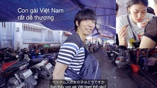 「ベトナム生活」Phản ứng của người Nhật về gái Hải Phòng và bánh mì cay