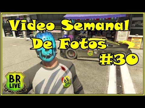 ◆Brasil LIVE 360 - Video Semanal De Fotos #30 - Gta V Online◆