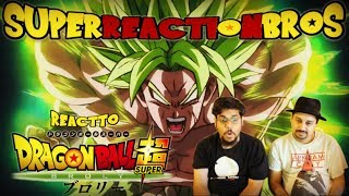 SRB Reacts to Dragon Ball Super Broly Trailer 3 - (English Sub)