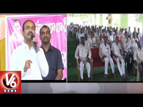 Minister Etela Rajender Visits Karimnagar District, Participates In Development Works | V6 News