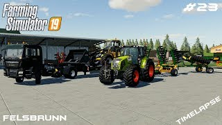New tractor and equipment | Animals on Felsbrunn | Farming Simulator 19 | Episode 23