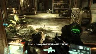 crysis 3 tactical mode action game play