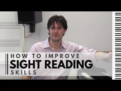 How to Improve Sight Reading Skills
