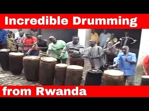 Drummers from Rwanda