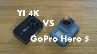 [4K]Roast it: YI 4K Action Camera VS GoPro Hero 5 #SamiLuo