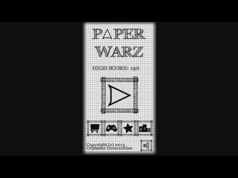 Paper Warz - Physics Game (Android) - gameplay.