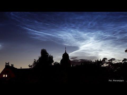 Obłoki Srebrzyste (noctilucent Clouds NLC) 3/4 Lipca 2014 W Poznaniu