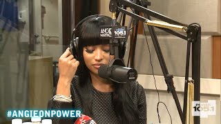 Nicki Minaj Cries During Interview Over Her Breakup