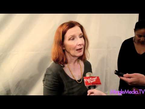 Frances Conroy at American Horror Story PaleyFest Red Carpet