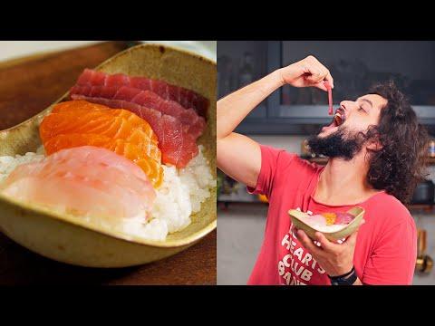 COMO FAZER ARROZ DE SUSHI ou SHARI | 3 Tipos de Sushi thumbnail